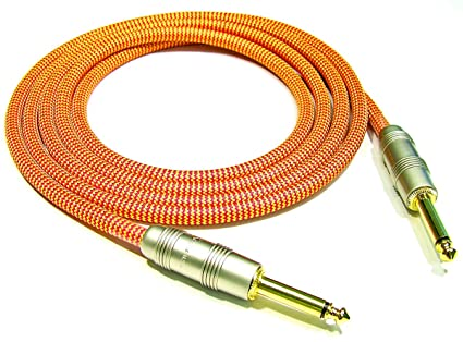 20 Ft Mono Stadium Guitar Cable (Orange)