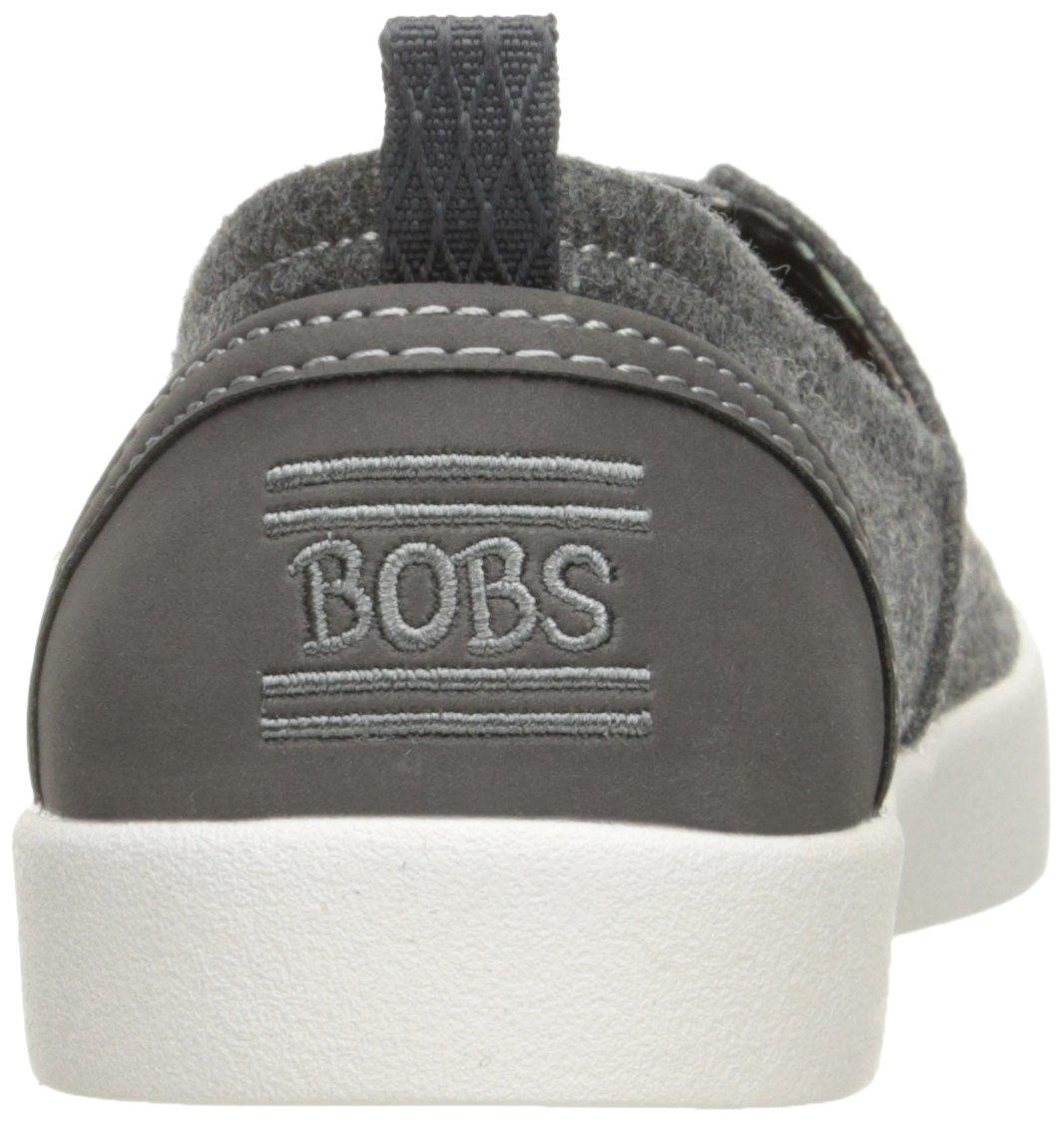 Skechers BOBS Women's Bobs-b Love Flat, Charcoal, 5.5 M US by Skechers (Image #2)