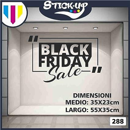 Friday Black BarRistorante Sale Vetrofania Vetrofanie n0PXwOk8