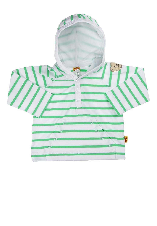 Steiff Baby - Jungen Kapuzenpullover Sweatshirt 1/1 Arm 6432713