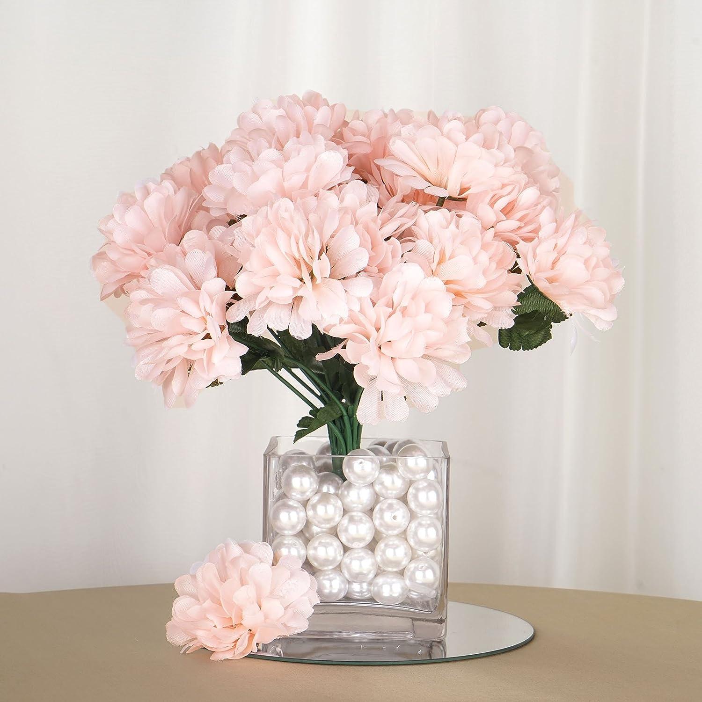 Amazon Balsacircle 84 Blush Silk Chrysanthemums 12 Bushes