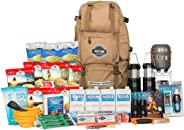 Sustain Supply Co. Premium Emergency Survival Bag/Kit – Be Equipped with 72 Hours of Disaster Preparedness Supplies for 4 Peo