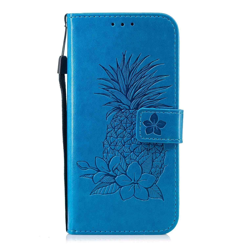 Carta Slot Oro Rosa DENDICO Custodia Galaxy S7 Edge Portafoglio Cover in Pelle per Samsung Galaxy S7 Edge Portafoglio Caso con Chiusura Magnetica