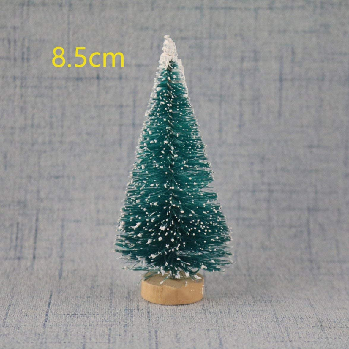 Logicstring /Árbol de Navidad de Bricolaje Peque/ño /árbol de Pino Mini /árboles colocados en el Escritorio Decoraci/ón del hogar Decoraci/ón de Navidad Regalos para ni/ños
