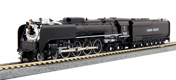 Kato USA Model Train Products 1260401 N Scale Union Pacific FEF-3 Steam  Locomotive Train 844