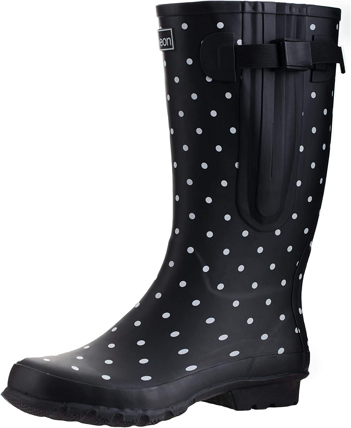 footwear new design better Amazon.com | Jileon Wide Calf Durable Rubber Rain Boots for Women ...