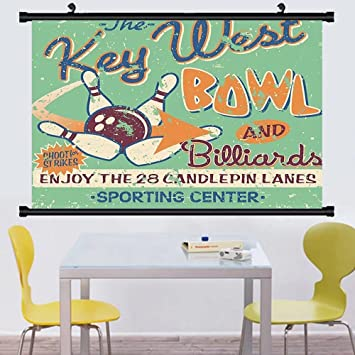Mage Quotes | Amazon Com Gzhihine Wall Scroll Vintage Retro Bowling Game Night