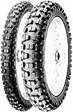 PIRELLI(ピレリ) バイクタイヤ MT 21 RALLYCROSS リア  110/80-18 M/C 58P  チューブタイプ 0341500 二輪 オートバイ用