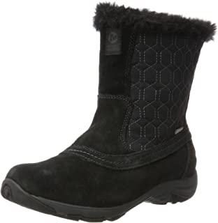 68520927188 Merrell Women s Approach Tall Leather Waterproof High Boots  Amazon ...
