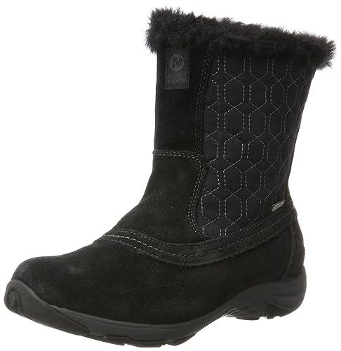 8eeeaa451ed32 Merrell Women's Ryeland Tall Polar Waterproof Snow Boots: Amazon.co ...