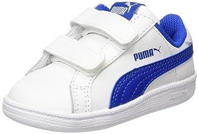 Adidas Vs ADV CMF Inf, Zapatillas Unisex Bebé, Blanco (Ftwbla/Azul/Escarl), 22 EU
