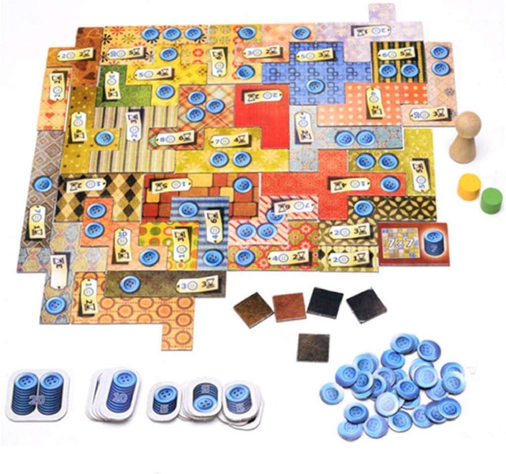 Patchwork | Juego de Mesa para 2 Jugadores | 15-30 Minutos de Tiempo de Juego: Amazon.es: Juguetes y juegos