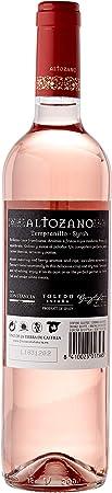 Altozano Rosado - Vino V.T. Castilla - 6 botellas x 750 ml - Total: 4500 ml