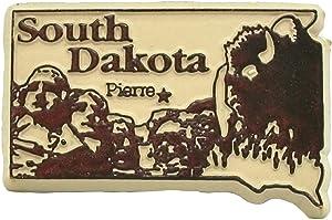 South Dakota Pierre United States Fridge Magnet