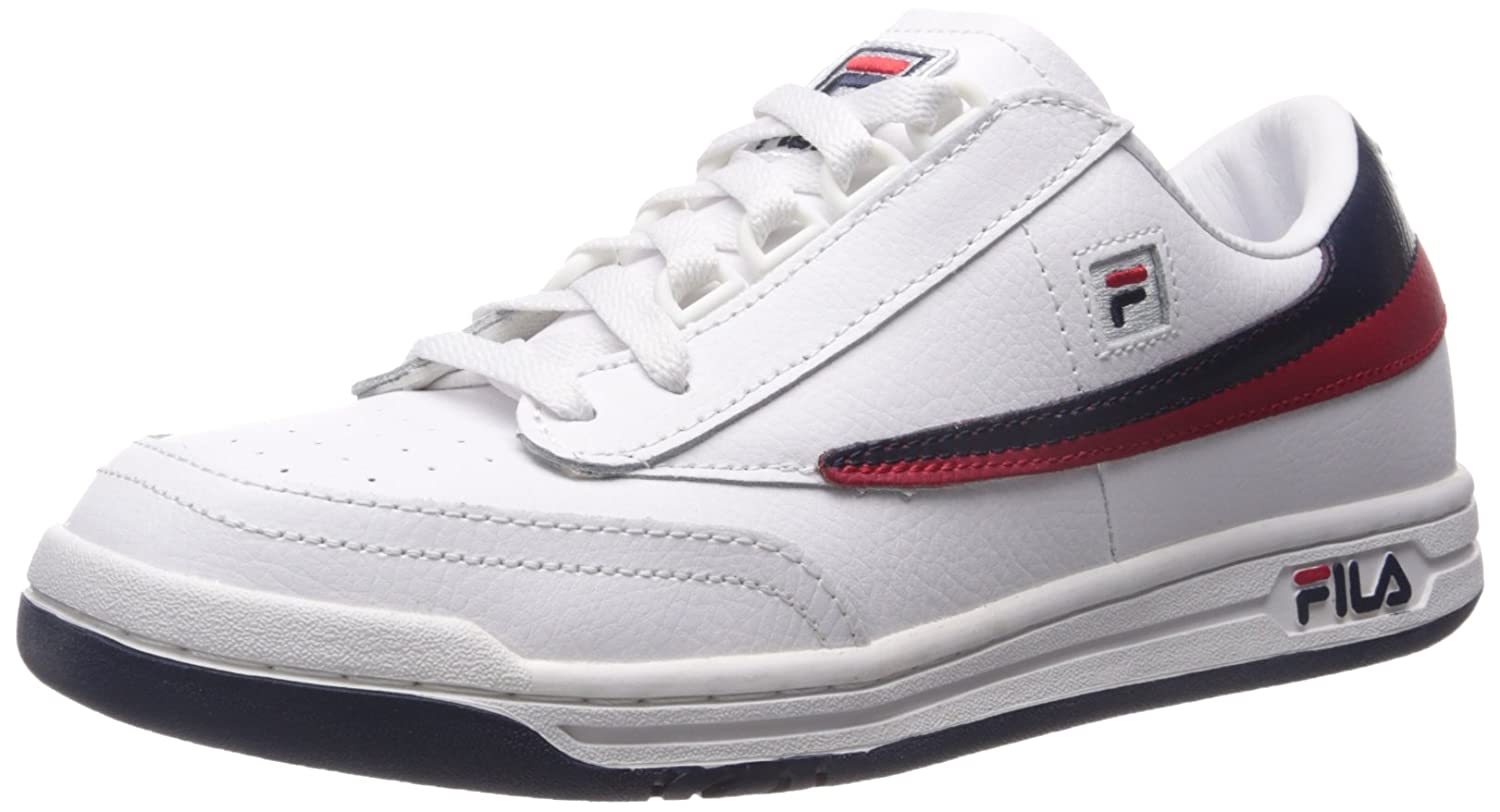 Fila Men's Original Tennis Classic Sneaker B01CNSSD9G 11.5 D(M) US|White/Fila Navy/Fila Red