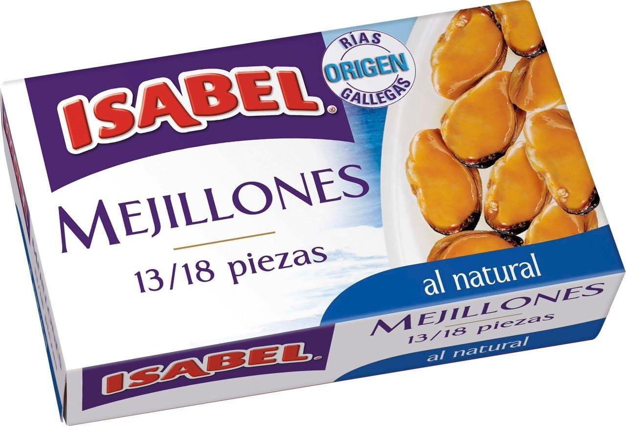 Isabel Mejillones De Las Rías Gallegas Al Natural 13-18 Piezas 13 ...
