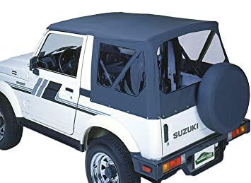 US Made Suzuki Samurai Convertable Top,Full Body Replacement Snaps,WithTailgate