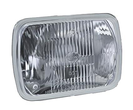 amazon com hella 003427291 vision plus 190x132mm high low beam 12vamazon com hella 003427291 vision plus 190x132mm high low beam 12v halogen conversion headlamp (hb2) automotive