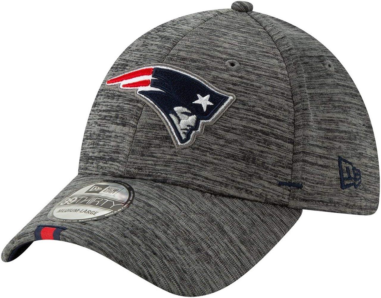 Grau New Era NFL New England Patriots On Field 2019 Training 39Thirty Cap