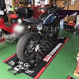 Amazon ヨシムラ Yoshimura レーシングフロアマット 903 217 2500 車 バイク 車 バイク