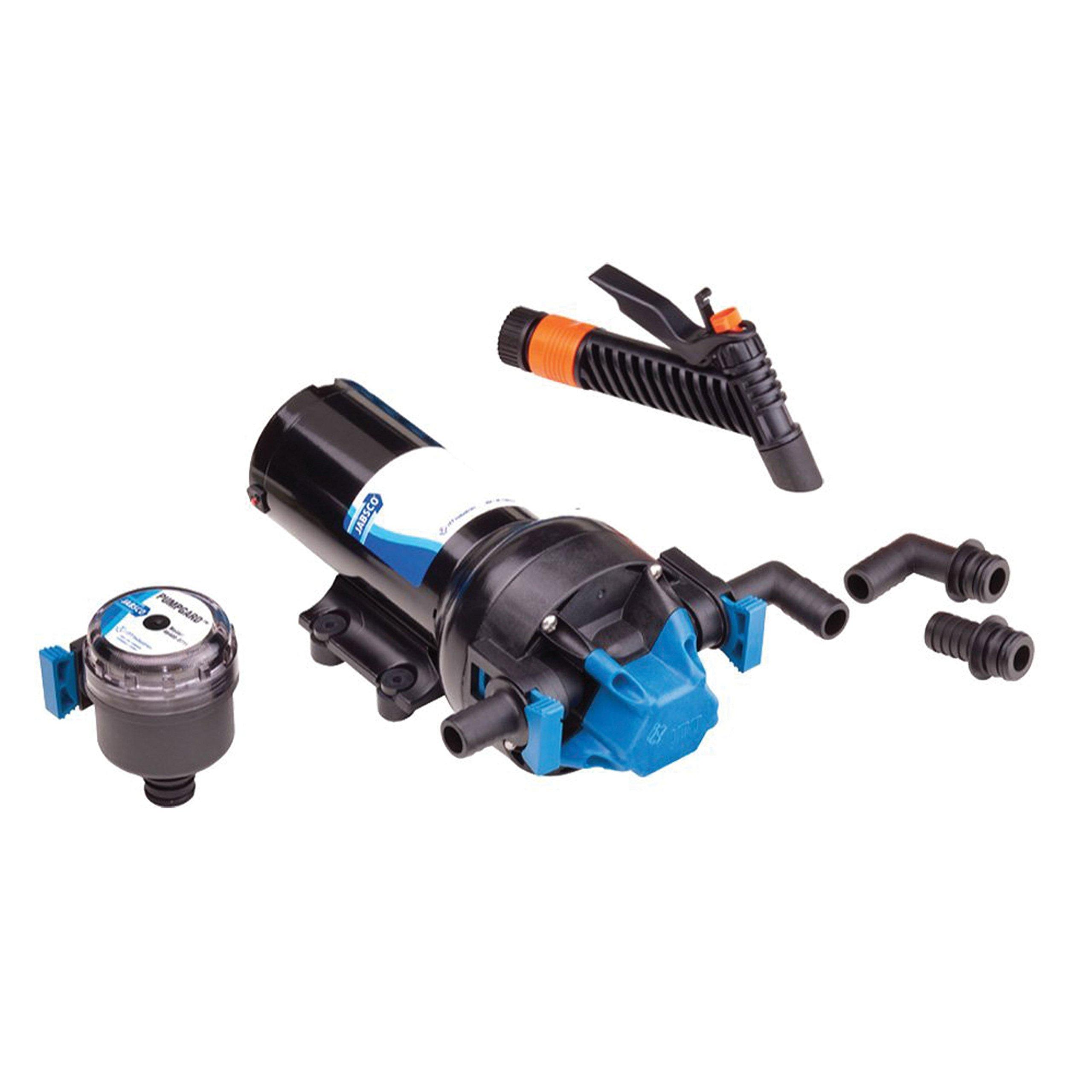 Jabsco 82505-0092 Hot Shot 5.0 5GPH Washdown Pump by Jabsco