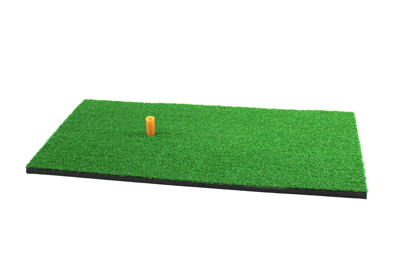 POSMA HM040AA Golf Backyard Golf Mat 12''x24''(30 x 60 CM), 30pcs Multi Color PU Practice Balls, 2pcs Tour Ball, and Cinch Sack Carry Bag by POSMA (Image #2)