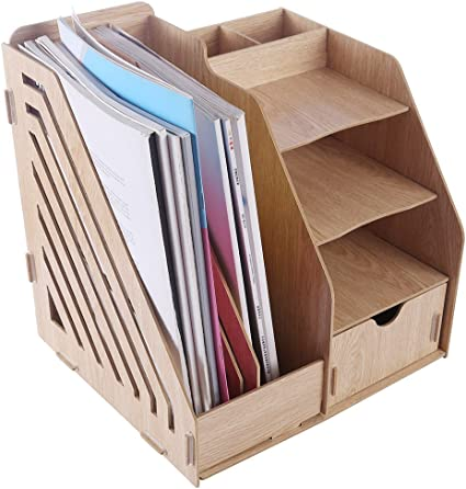 lokauf revistero madera documentos Caja revistero Office Desktop ...