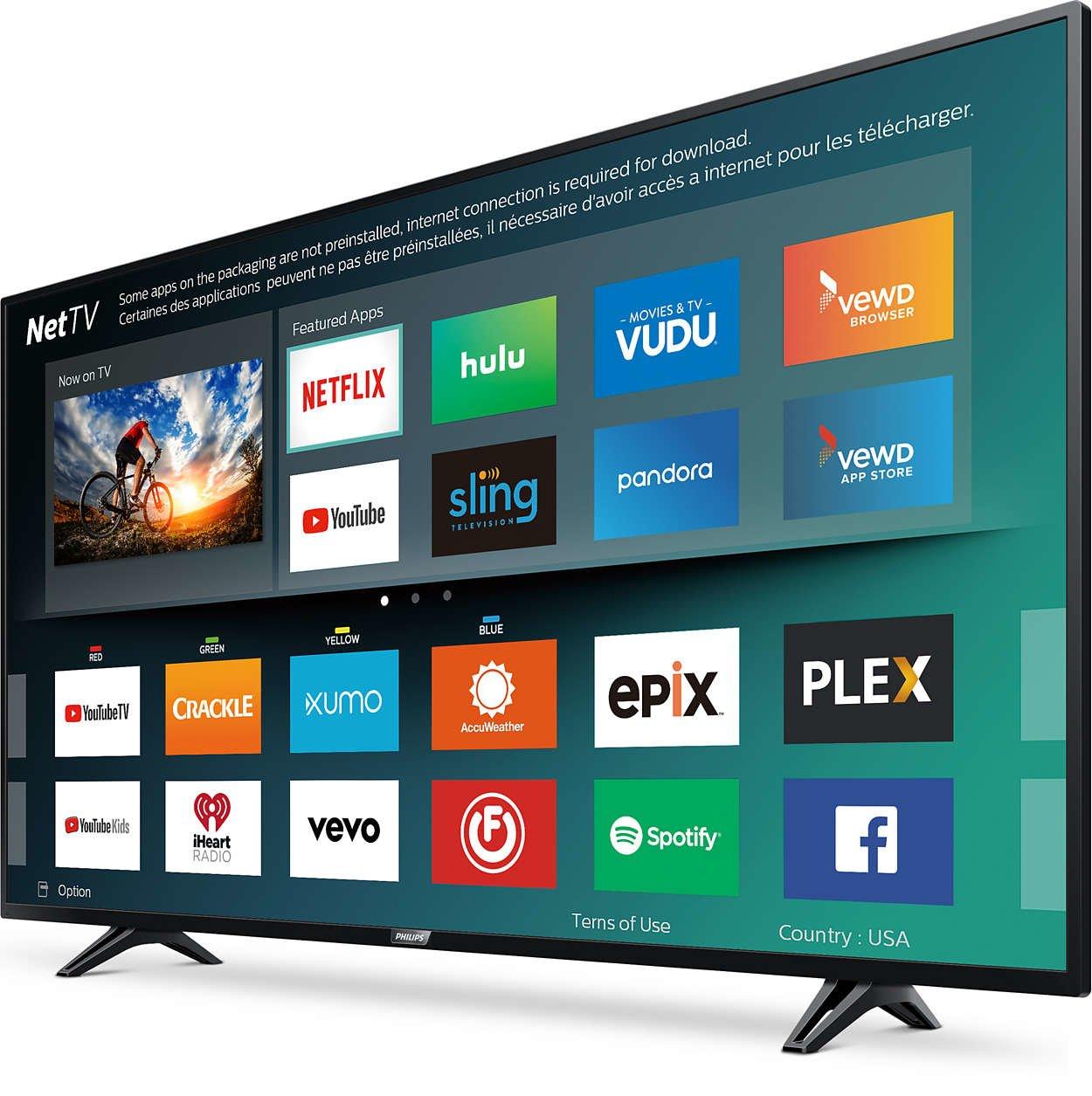 Philips 50-Inch 4K UHD TV 2