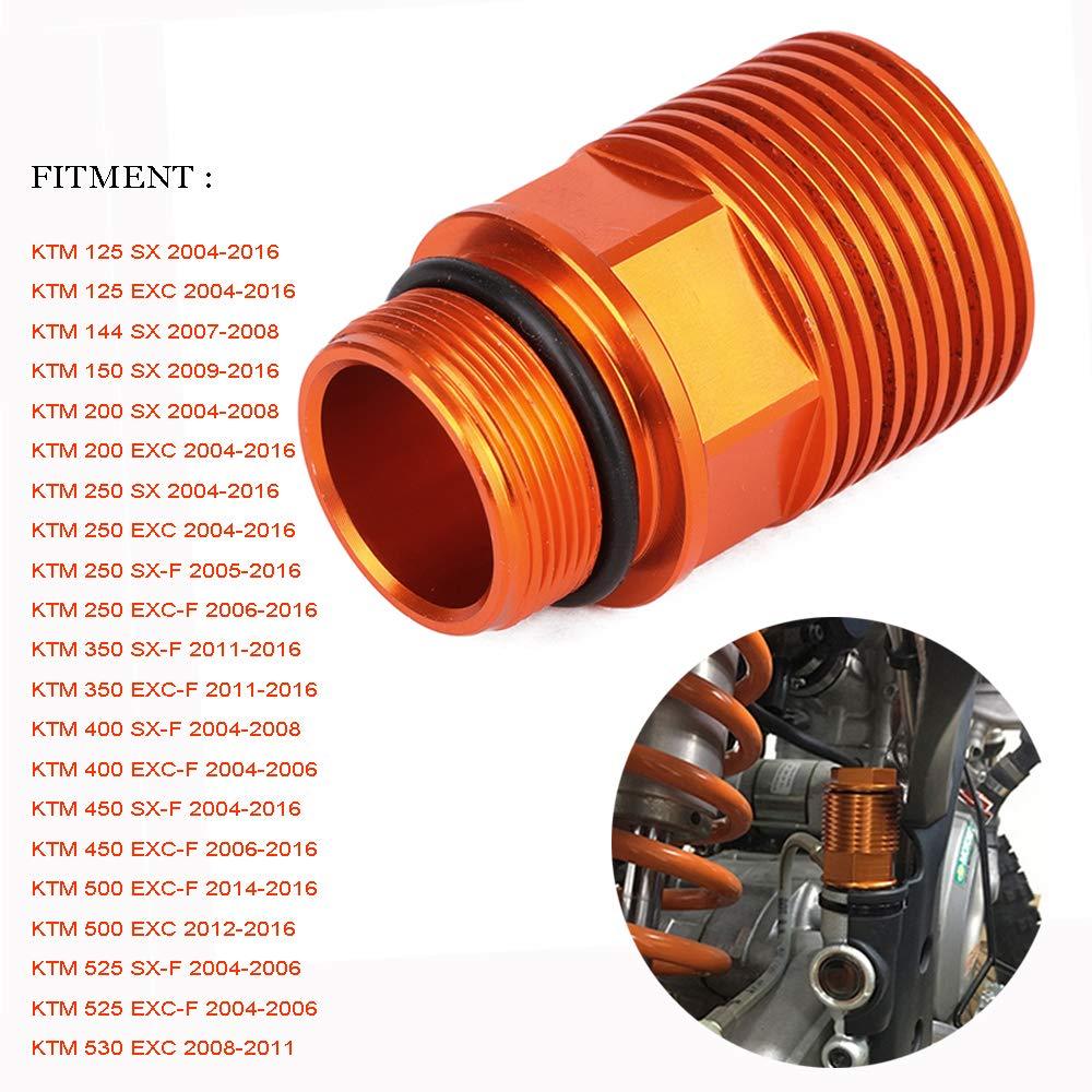 JFG RACING CNC - Extensió n de Freno Trasero para KTM 125-530 SX/SX-F/XC/XC-W/EXC/EXC-F2004-2016, 54813960050