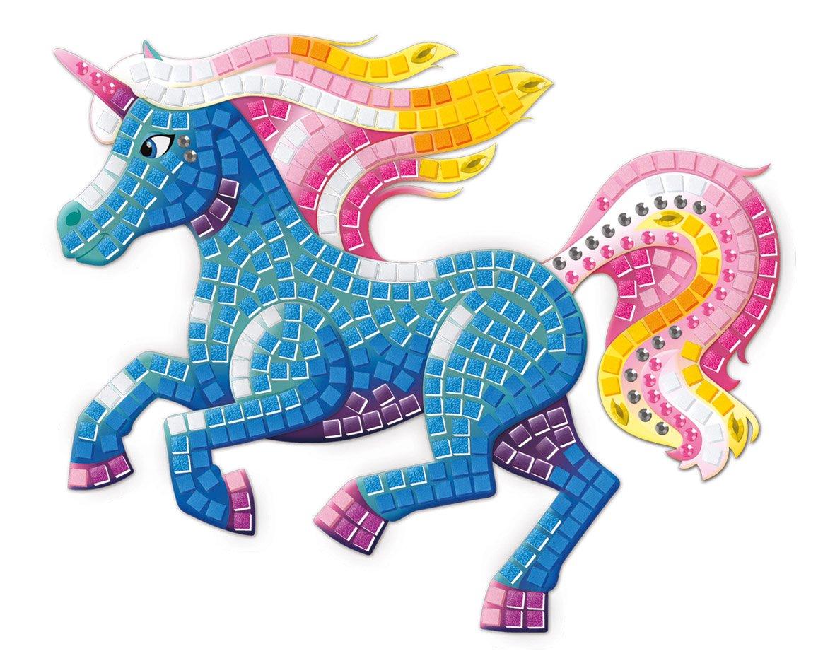 The Orb Factory Sticky Mosaics Unicorns 67182