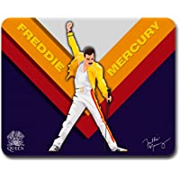 MOUSE PAD GAMER FREDDIE MERCURY, 27 x 21 cm, BASE ANTIDESLIZANTE, SUPERFICIE DE PRECISIÓN OPTIMA