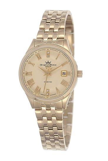 Yonger & Bresson DMP 1690/22 - Reloj de pulsera mujer, acero ...