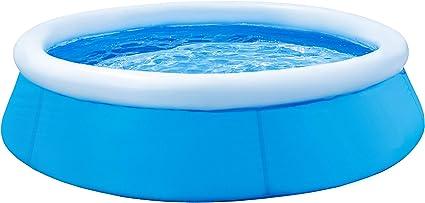 Slabo SO Pool Fast | Piscina de Montaje Redondo | Piscina Infantil Hinchable | Piscina de jardín | Piscina de Montaje rápido - SIN Bomba 183x51 cm