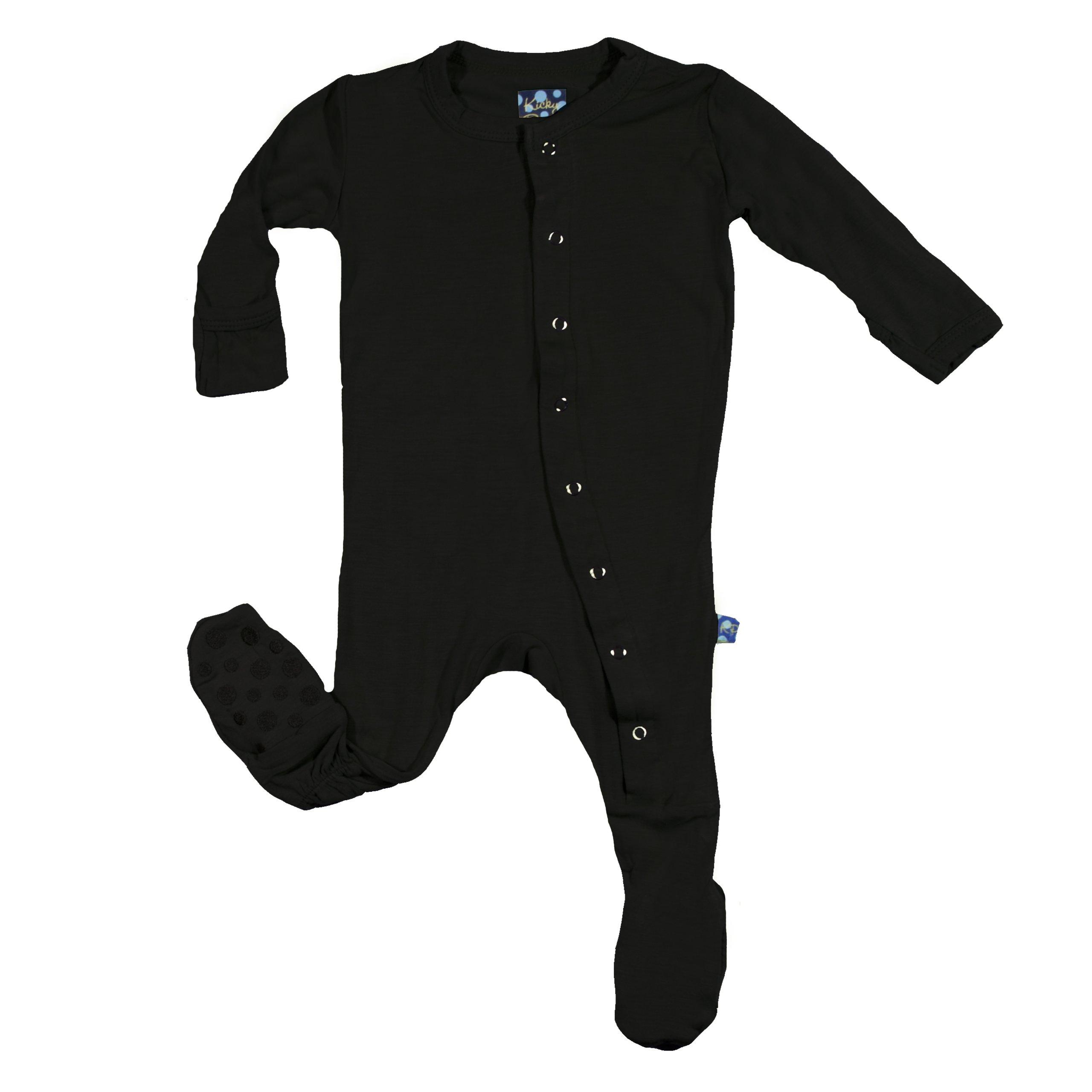 Kickee Pants Little Boys Footie Pajama Preemie Bark