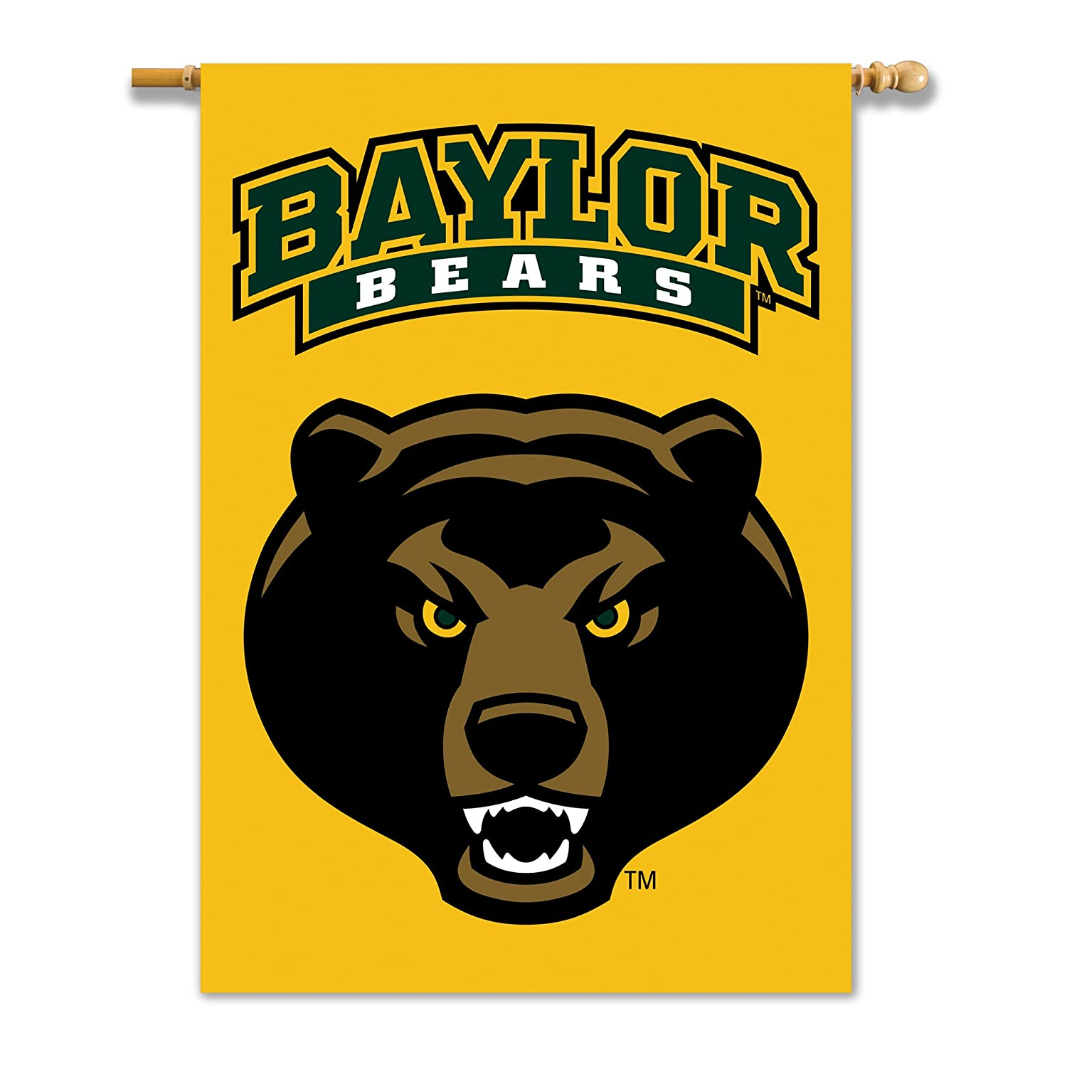 NCAA Unisex NCAA 2-Sided 28-by-40 Inch House Banner with Pole Sleeve