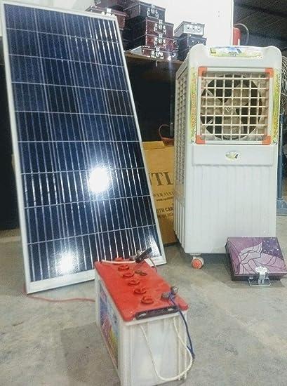 Solar Cooler - 12 Inch Fan model - In Fiber Body: Amazon in