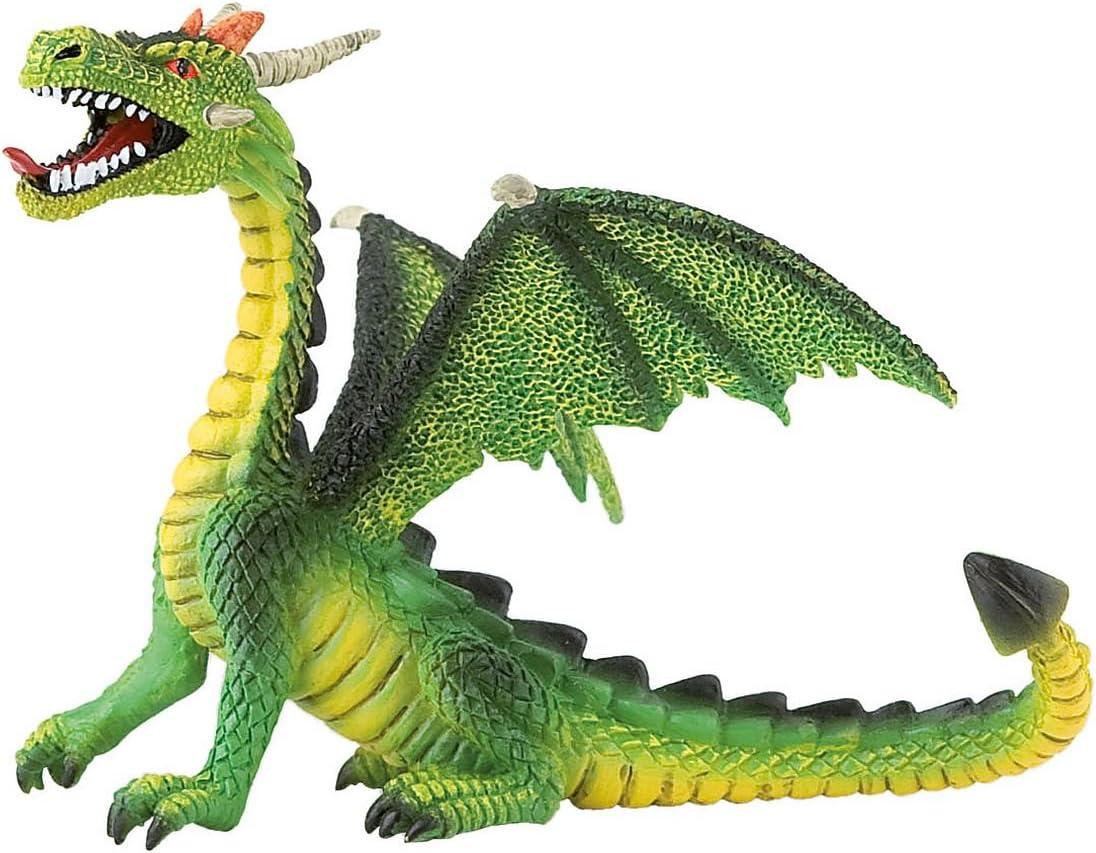 Bullyland 75593 - Figura de dragón en Color Verde