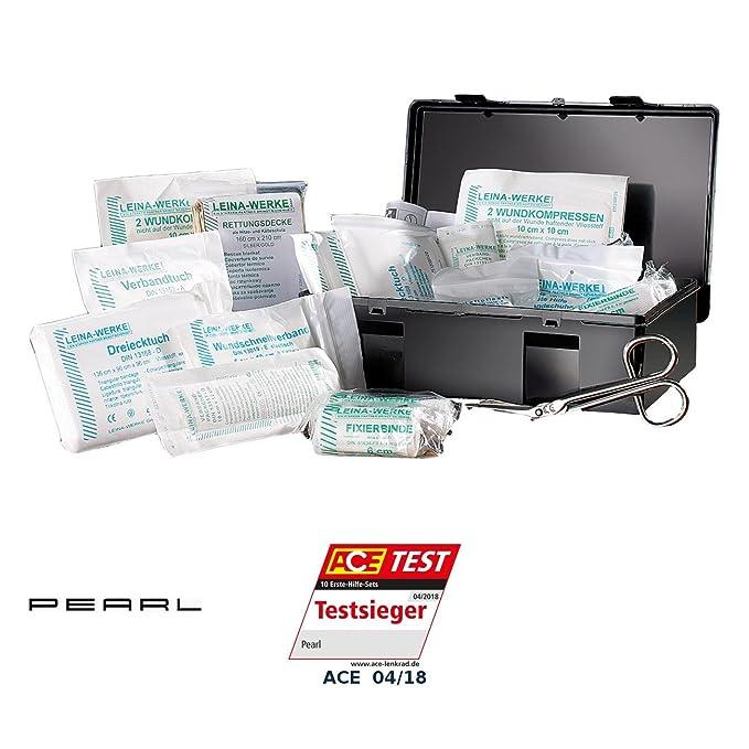 PEARL Autoverbandskasten: Marken-KFZ Verbandkasten Plus, geprüft nach DIN 13164 (Kfz Verbandskasten)