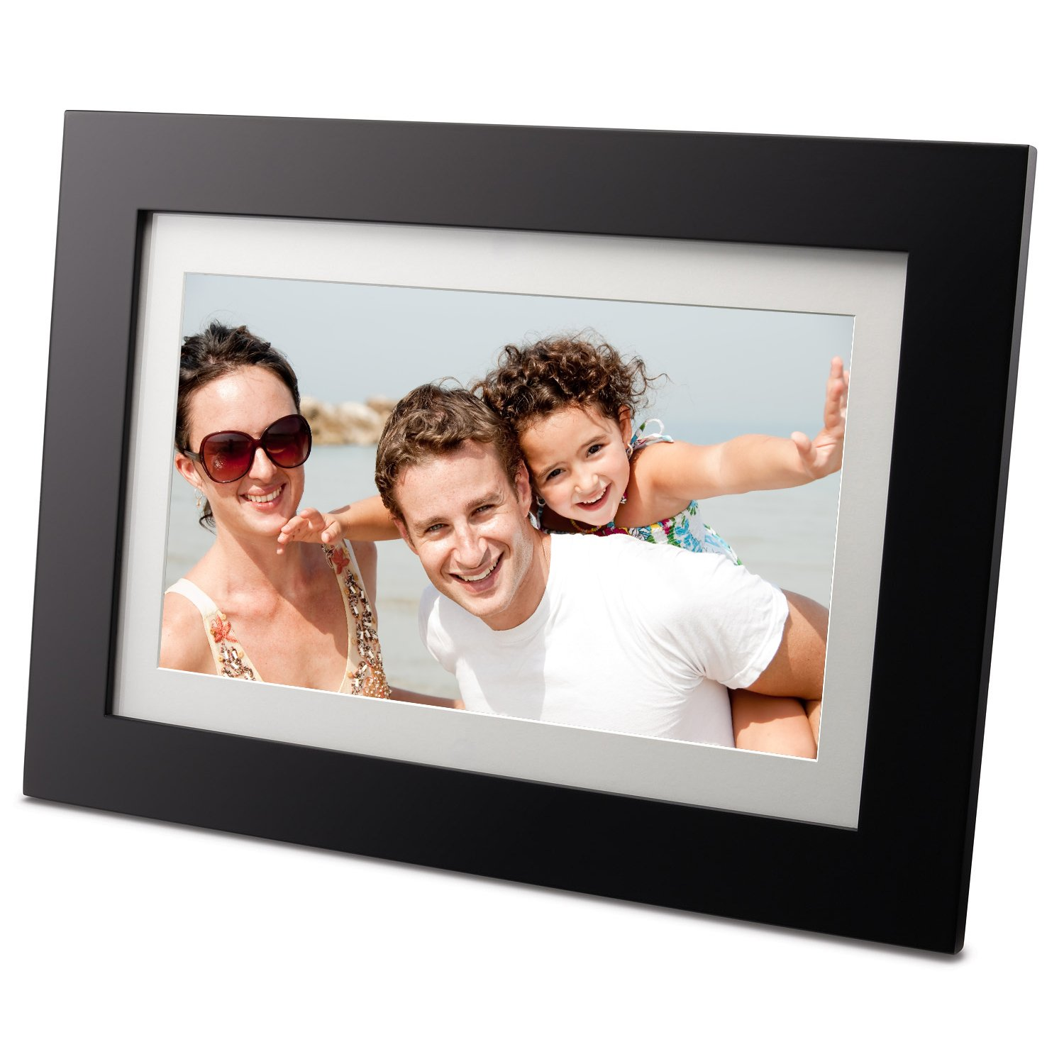 amazoncom viewsonic vfd1027w 11 102 inch digital photo frame with 128 mb internal memory digital picture frames camera photo