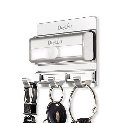 OxyLED - Luces de armario con sensor de movimiento, luz de armario, sin pegamento