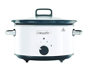 Crock-Pot CSC030X 220 Volts (Not for USA - European Cord) Slow Cooker, 3.5-Liter, White