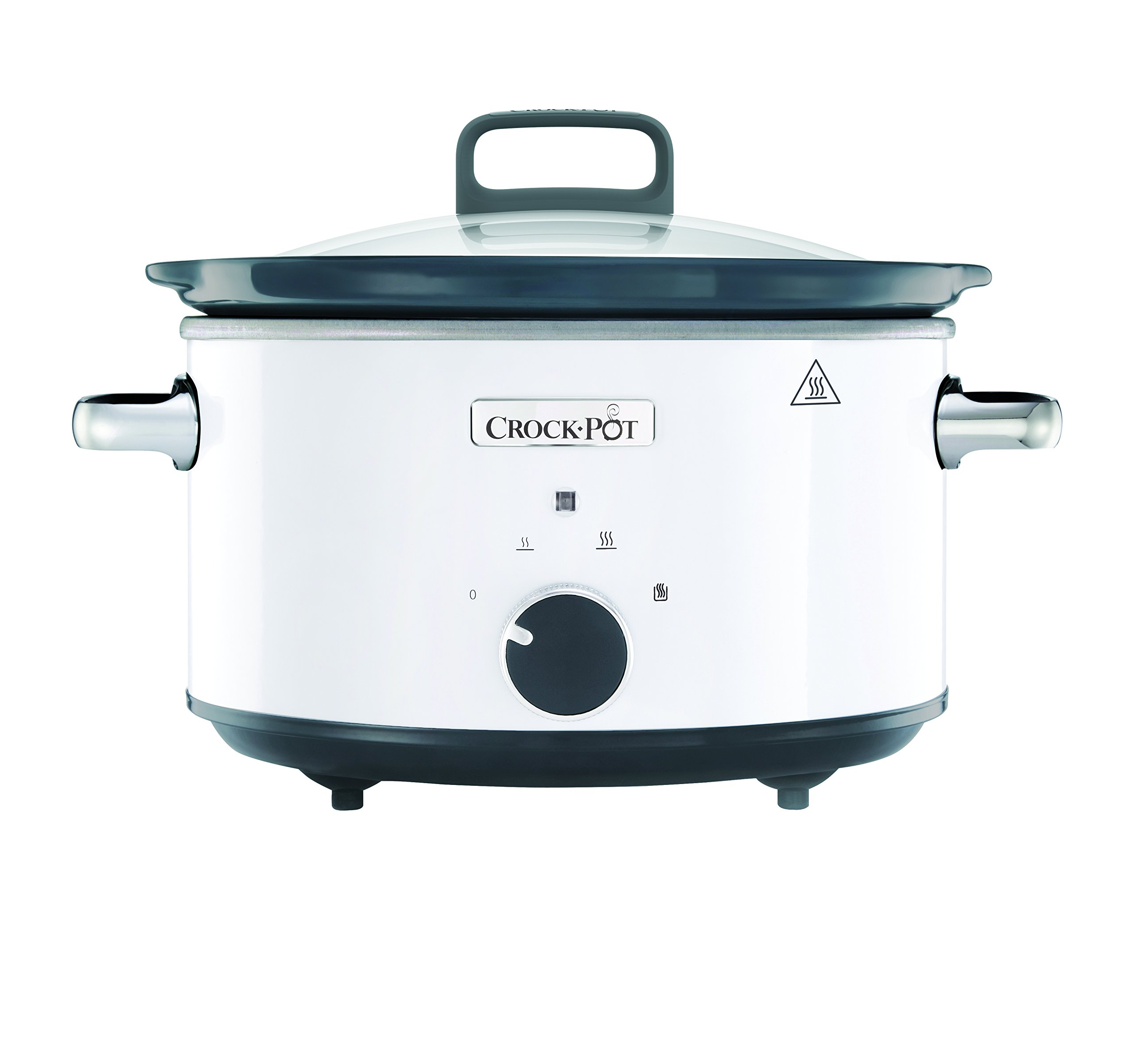 Crock-Pot CSC030X 220 Volts (Not for USA - European Cord) Slow Cooker, 3.5-Liter, White by Crock-Pot