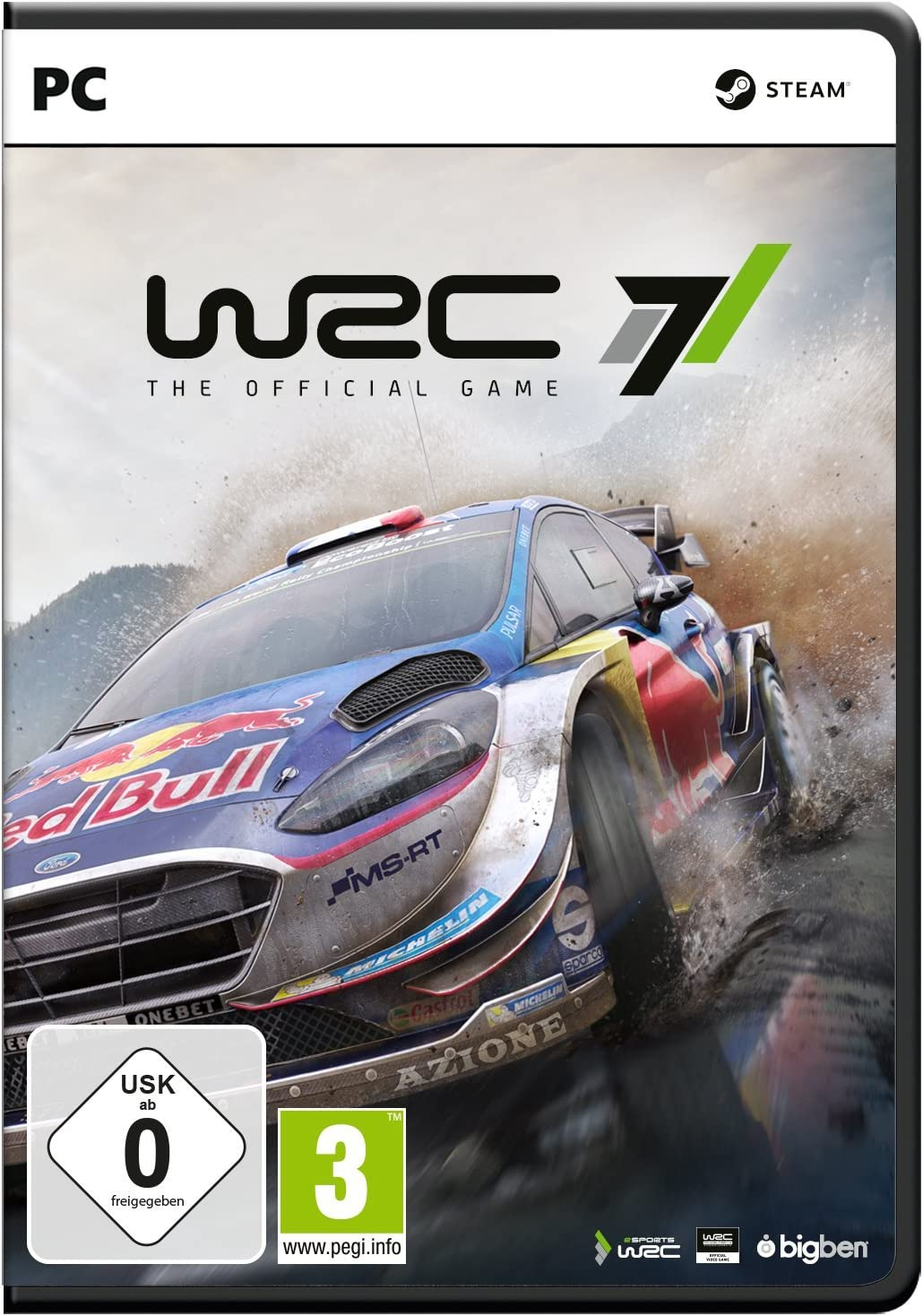Bigben Interactive WRC 7, PC vídeo - Juego (PC, PC, Racing ...