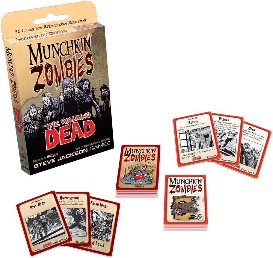 Munchkin Zombies: The Walking Dead: USAopoly: Amazon.es: Juguetes y juegos