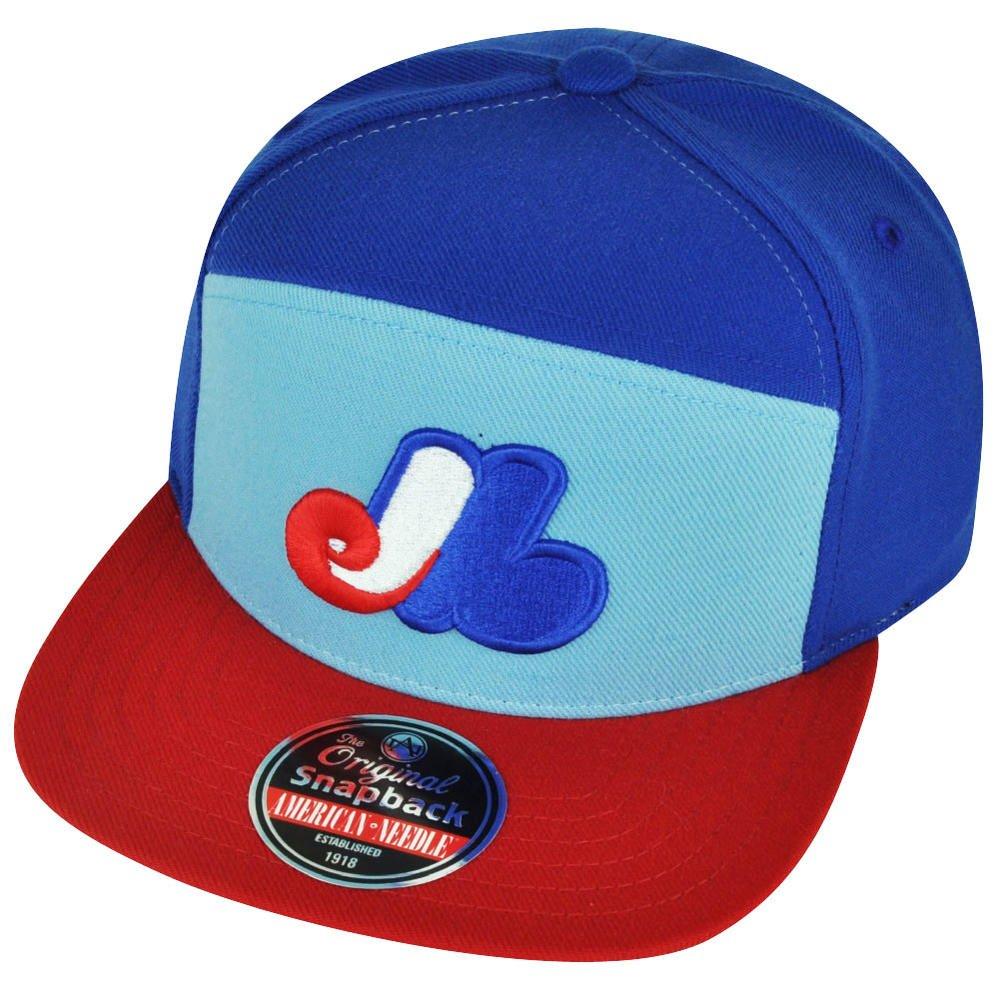 Amazon.com   American Needle Montreal Expos Throwback Logo Snapback  Adjustable One Size Hat Cap   Sports   Outdoors 2edd0015785