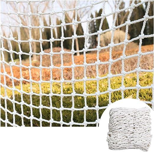 Malla De Nylon Tarea Pesada para Niños Gato Y Perro Protección contra Caídas Red De Malla De Jardín para Ventanas/Plantas Redes De Seguridad por Barandillas Blanco 6mm/5cm (Size : 7x9m): Amazon.es: Jardín