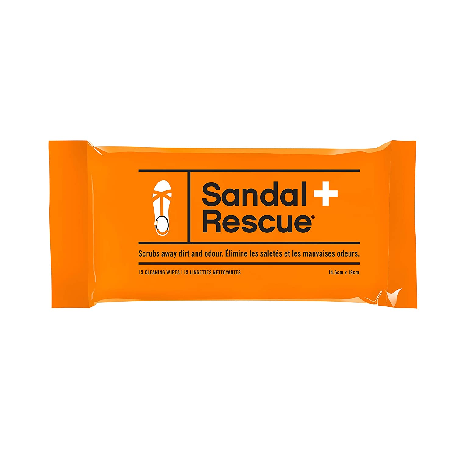 【驚きの値段】 sandalrescue Cleans all-natural Wipes Textured Cleaning Wipes forレザーorスエード。中敷きScrubs Off汚れ Over。15パック。、オイルFootprints and Cleans All Over。15パック。 B01N23SC4M, イズミク:e9eb3b26 --- a0267596.xsph.ru