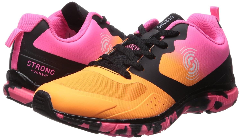 Zumba Footwear Strong by Fly Fit, Zapatillas de Deporte para Mujer, Naranja (Orange), 43 EU: Amazon.es: Zapatos y complementos