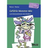 Gefühle-Monster-Mix zum Externalisieren mit Kindern: 64 Bildkarten mit 20-seitigem Booklet in stabiler Box, Kartenformat  1x98x143 und 3x49x143 mm. ... von Steffen Gumpert. Mit Online-Material