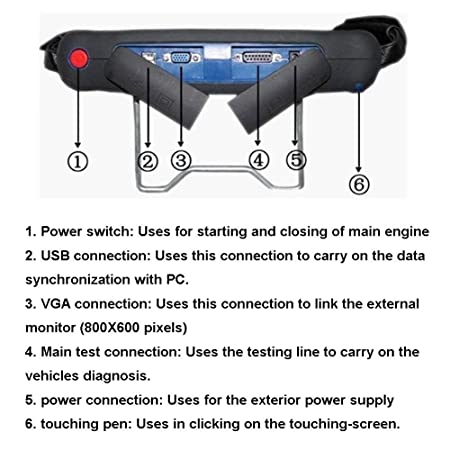 Herramienta de diagnóstico Xtool PS2 profesional Heavy Duty Truck Diesel actualización en línea: Amazon.es: Coche y moto